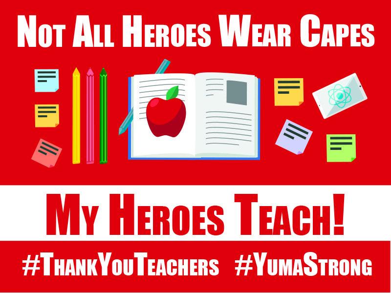 Nurse & Teacher Appreciation Signs